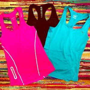 3 Like-New Women's Workout Tanks!!!